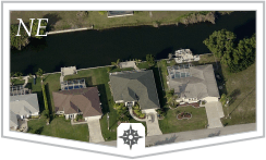 Search NE Cape Coral freshwater homes