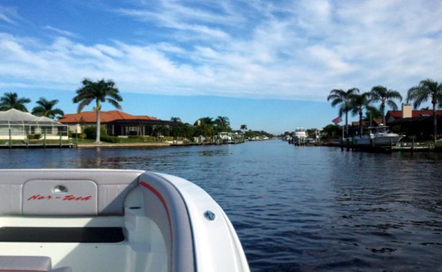 Cape coral saltwater or freshwater